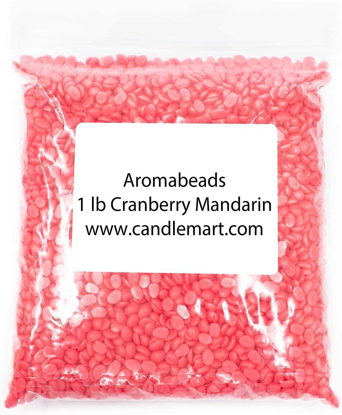 Aromabeads Singles Cranberry Mandarin Bulk Wax Melts