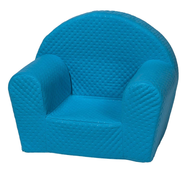 Velinda Kindersessel Mini-Sessel Kinderstuhl Relaxsessel Kuschelsessel Softsessel (Farbe: Dunkelblau)