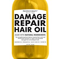 Repairing Hair Treatment Oil - Grapeseed, Rosemary, Black Cumin and Jojoba Oil -...