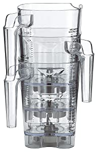 Waring CAC93X 48 oz. Copolyester Jar with Lid and Blade for Xtreme High-Power Blenders