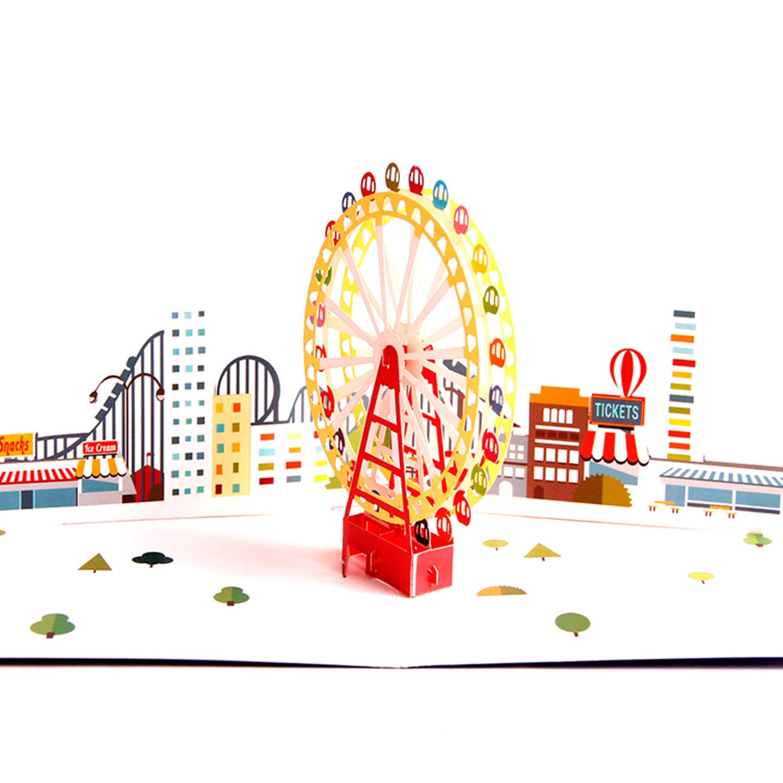 Tarjeta de Cumpleaños 3D Paper Spiritz Tarjetas Agradecimiento Felicitación Cumpleaños 3D Pop up Navidad Graduación Tarjetas Cumpleaños Personalizadas Pop up Birthday Card