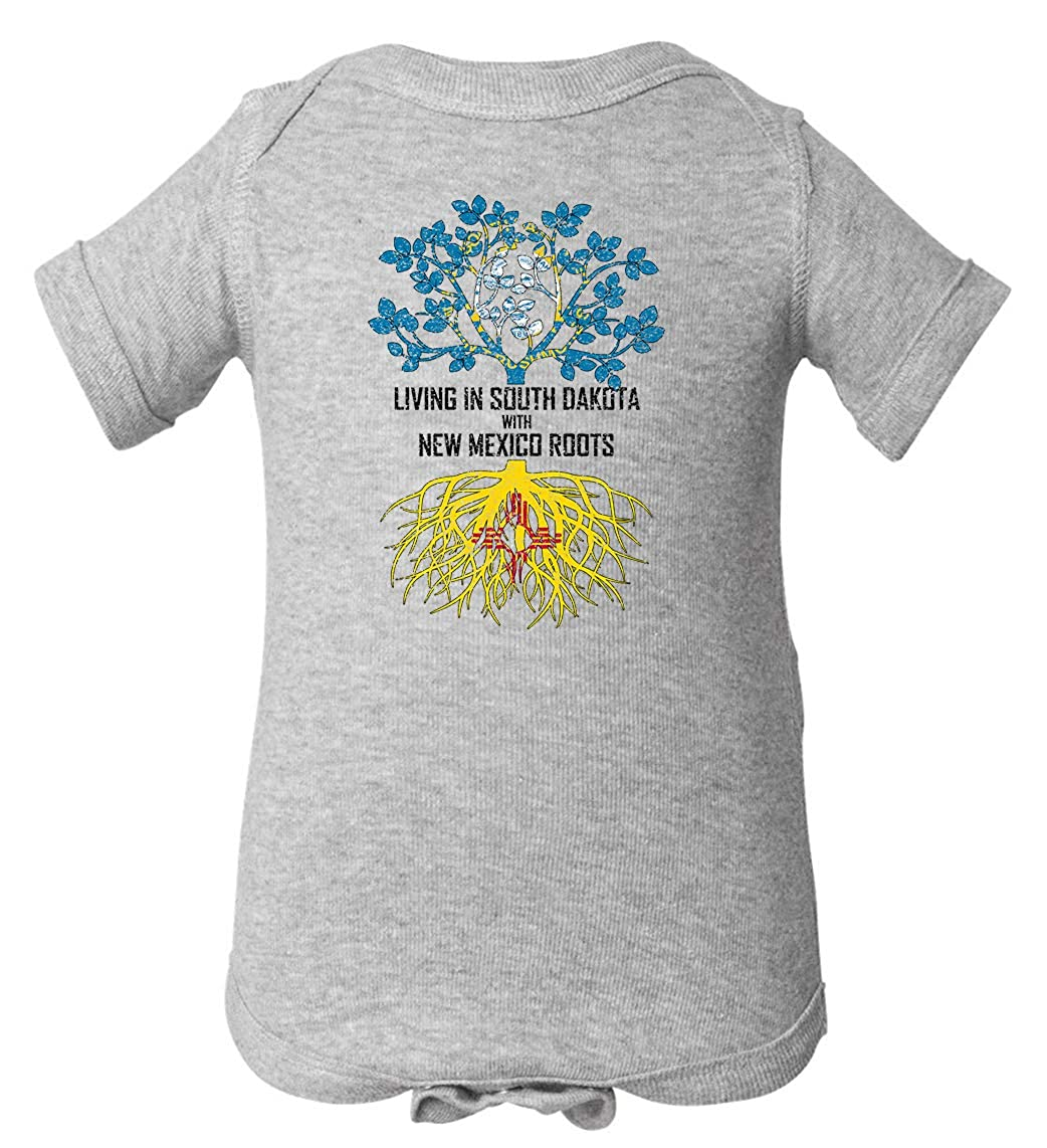Tenacitee Babys Living in South Dakota Mexico Roots Shirt