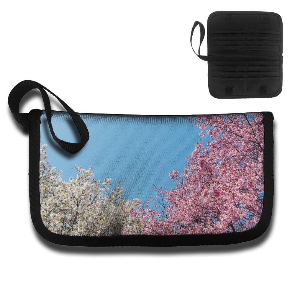 0d9995a4ac 60%OFF Gili Bright Cherry Blossoms Travel Passport   Document Organizer  Zipper Case