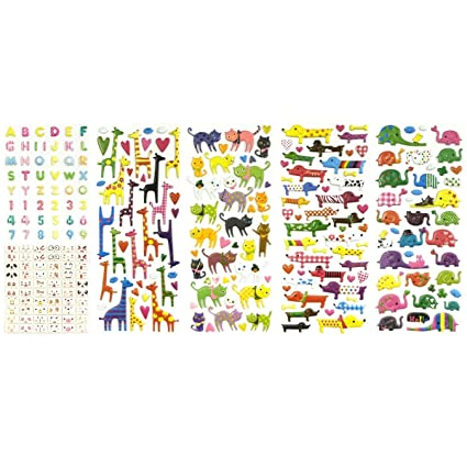 Amazon Allydrew 3d Puffy Adhesive Stickers Puffy Stickers For