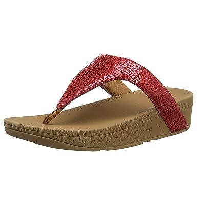 Amazon.com | #Fitflop Lottie Chain Print Yellow Womens Sandals Flip Flops | Sandals