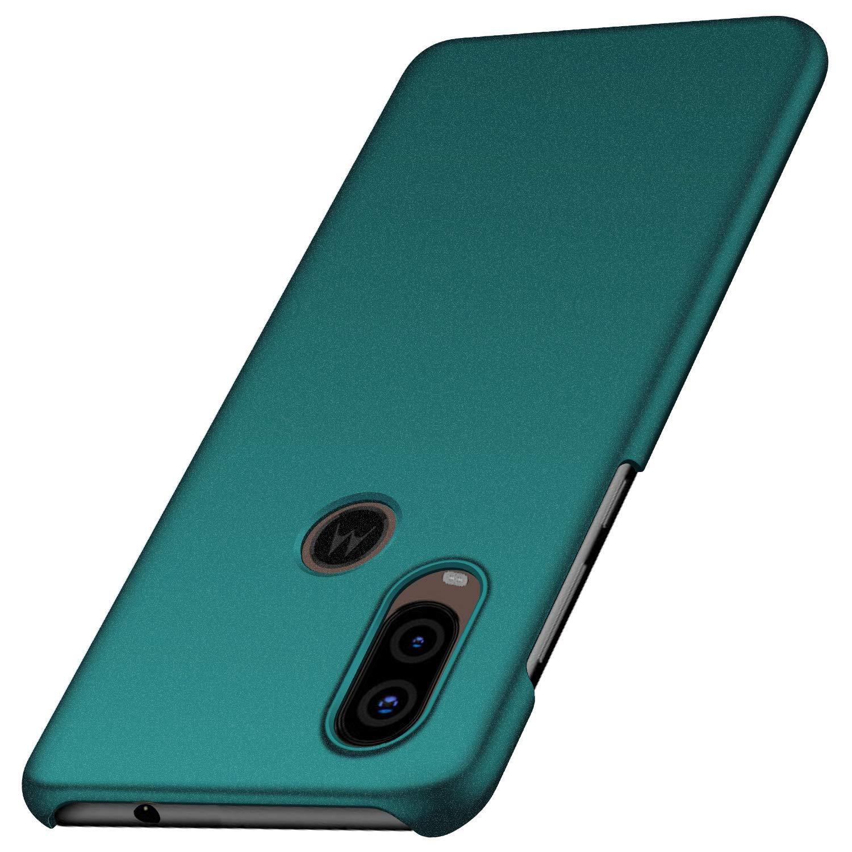 Funda Para Motorola One Vision Super Delgada,verde (xam)