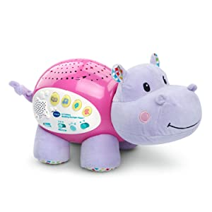 VTech Baby Lil' Critters Soothing Starlight Hippo, Pink (Amazon Exclusive) baby sleep - 71EMA3zdHTL - Baby sleep: Problems, Solutions, Tips and Tricks