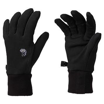 Damen Mountain Hardwear Damen Power Stretch Stimulus Handschuhe Schwarz Sport Outdoor