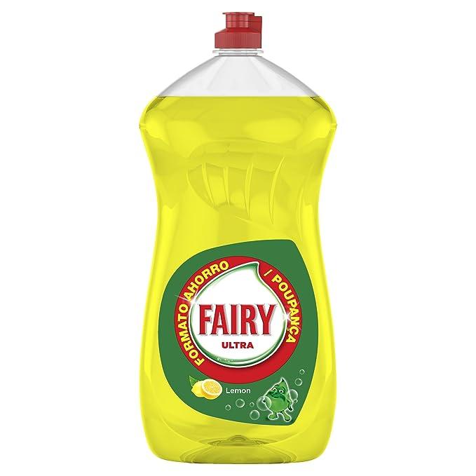 Fairy Limón - Líquido lavavajillas a mano, 1410 ml