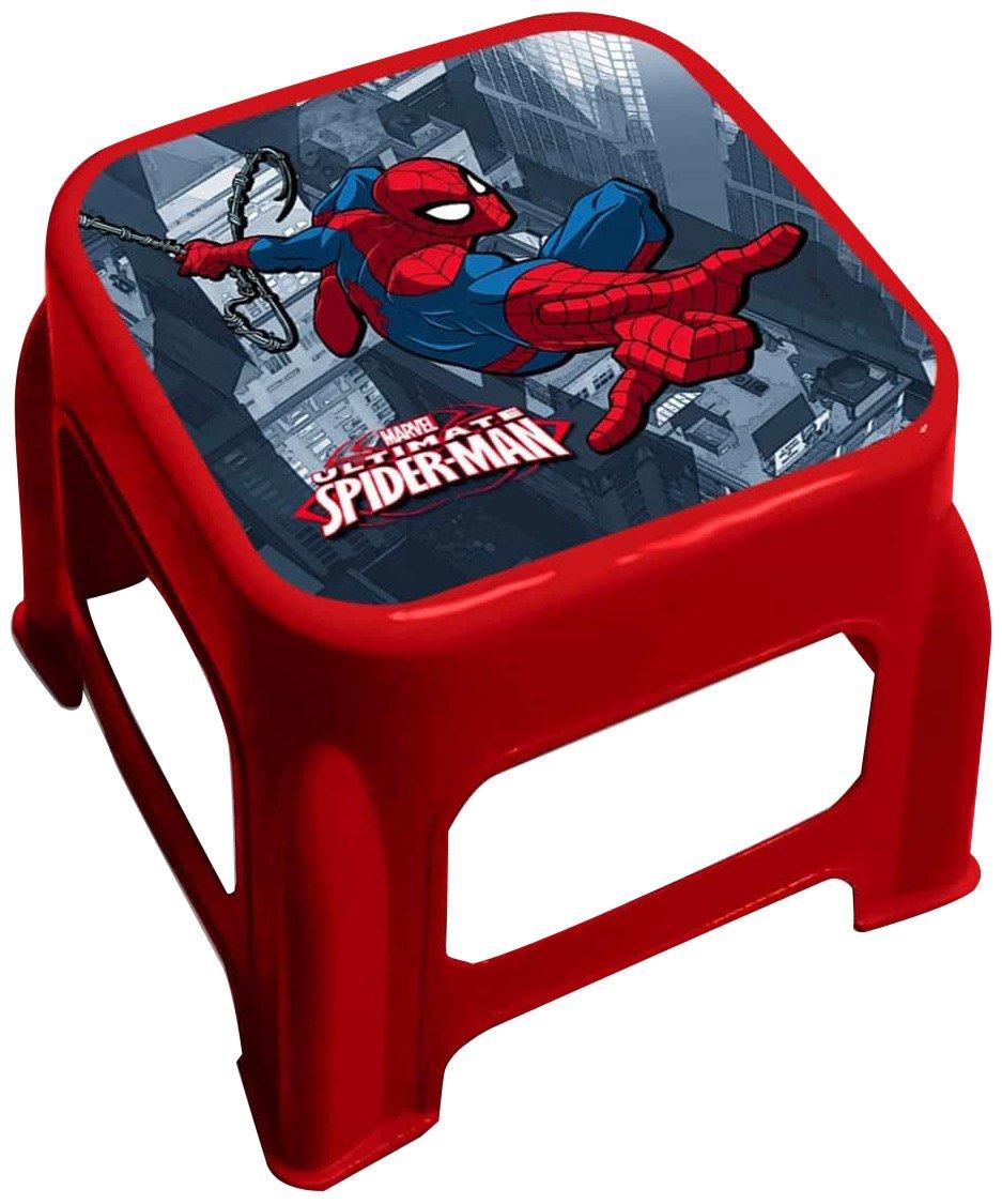 Star Licensing 45476 Disney Spiderman Sgabello,, 24.5 x 24.5 x 20 cm,