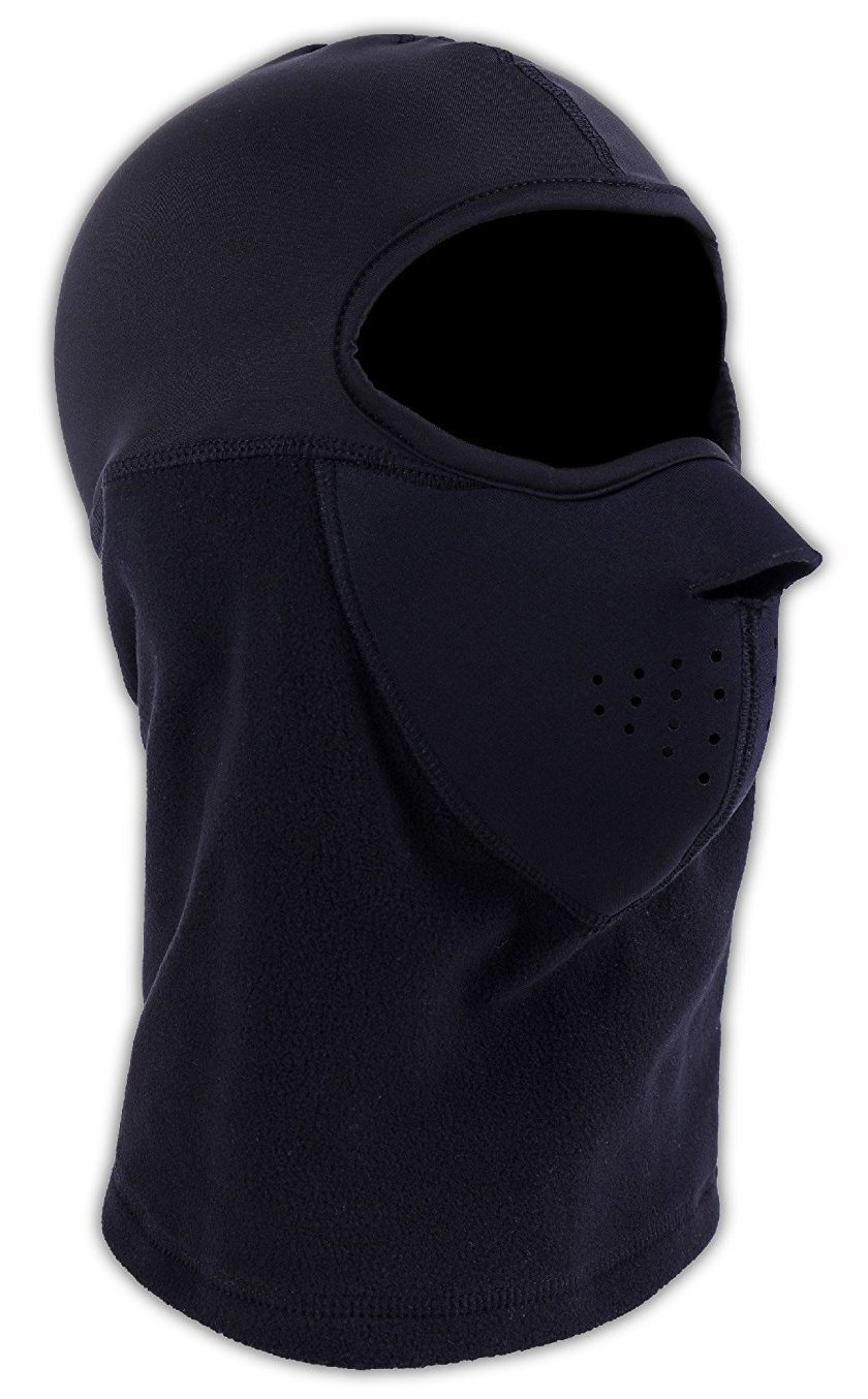 Balaclava with Neoprene Face Mask - Perfect for Skiing, Snowboarding, Motorcycling & Cold Weather Winter Sports - Ultimate Protection from the Elements