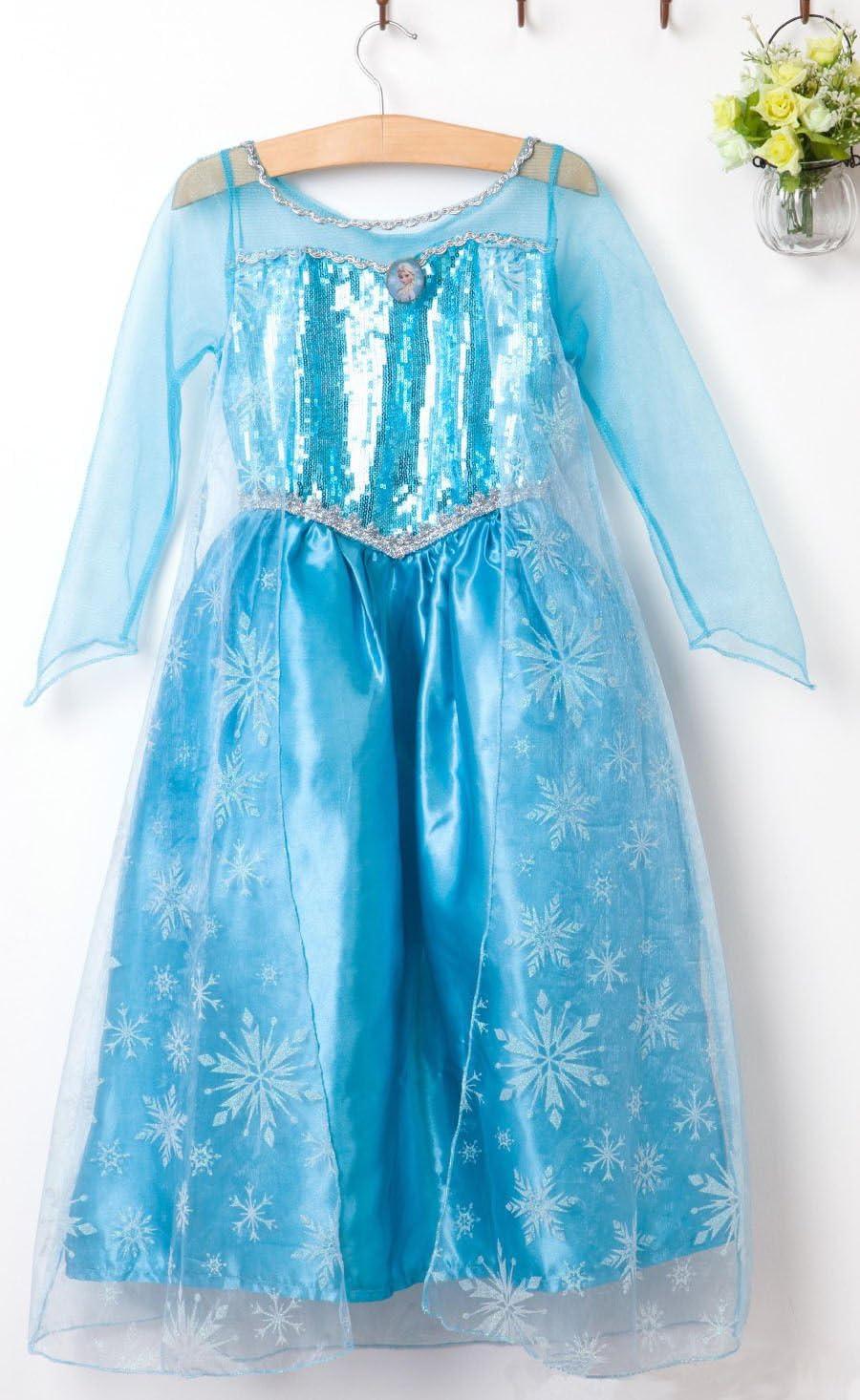 Amazon.es: Disfraz de princesa Elsa - Frozen