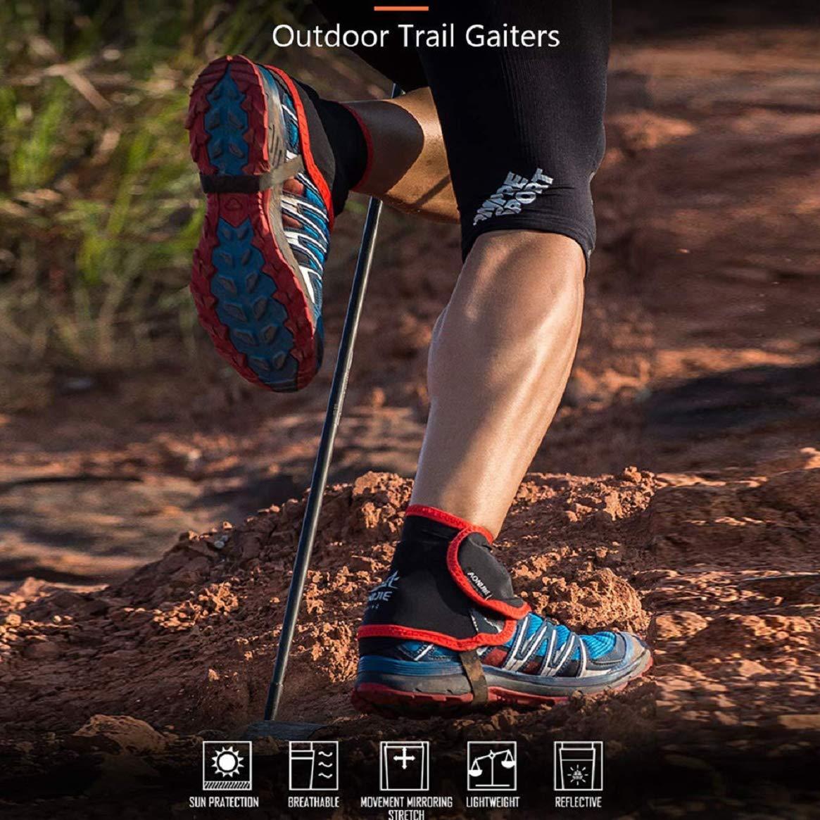Amazon.com: Trail Gaiter - Protector de tobillo para zapatos ...