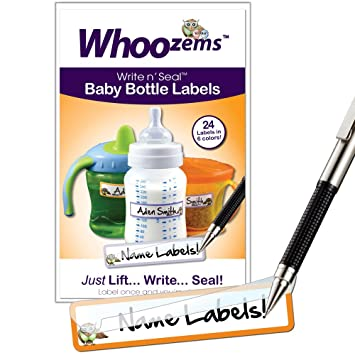 Baby Bottle Labels, Self-laminating - Great for Daycare...