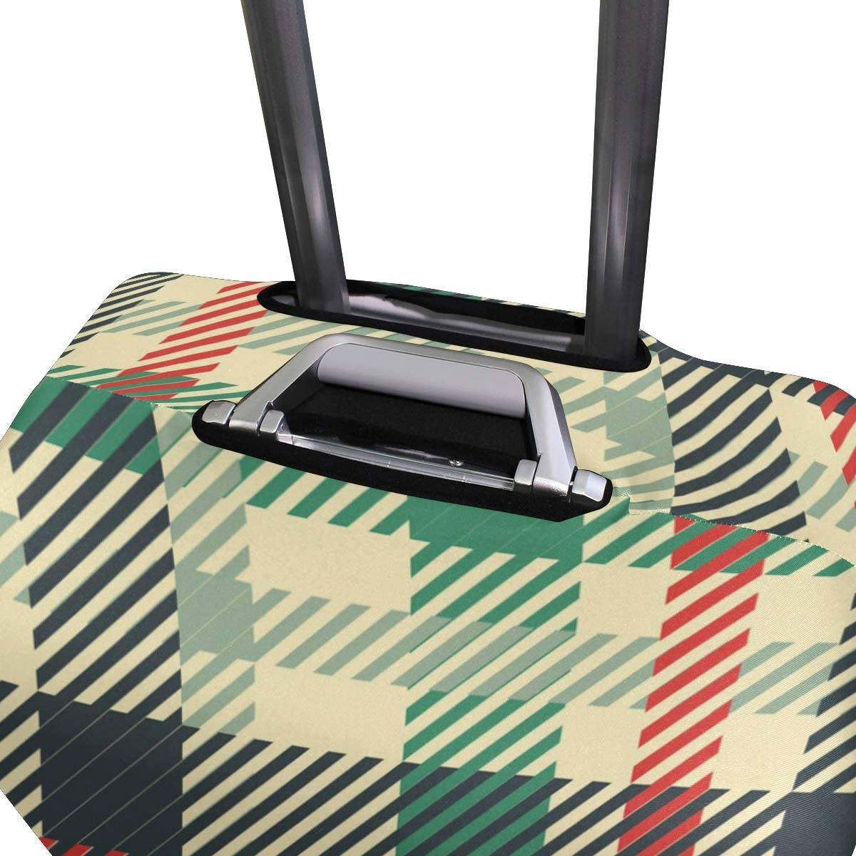 Blue Viper Tartan Patterns Luggage Protective Cover Suitcase Protector Fits 22-24 Inch Luggage
