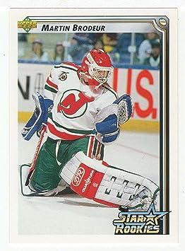 Martin Brodeur Hockey Card 1992 93 Upper Deck 408 Nm Mt Trading