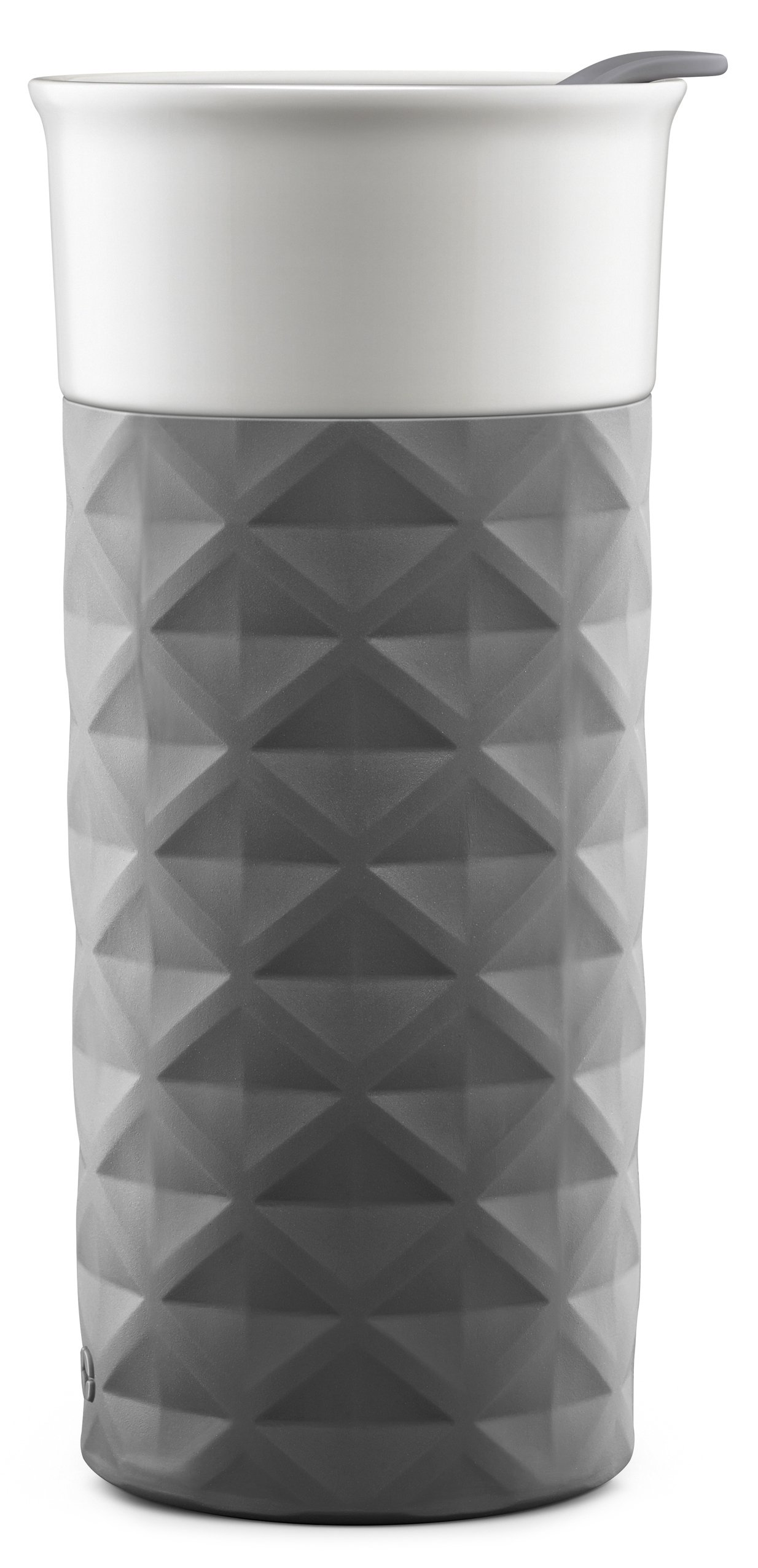 Ello Ogden BPA-Free Ceramic Travel Mug with Lid, Grey, 16 oz by Ello (Image #4)
