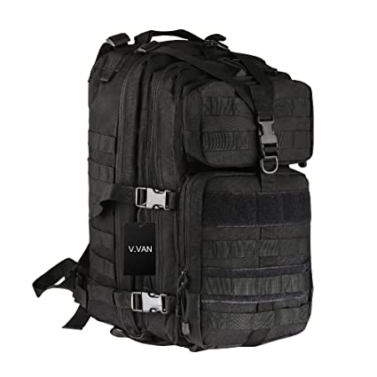 V.VAN 65L Internal Frame Backpack, Water-resistant Hiking Backpack,  Trekking Bag for Outdoor Sports Climbing Camping Mountaineering Backpacking  with Rain ... 01fd8e511a