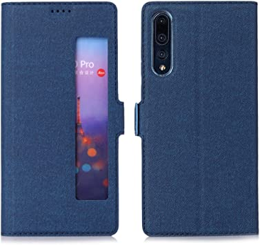 East Coo Huawei P20 Pro móvil, Premium Cuero PU Smart Flip Case ...