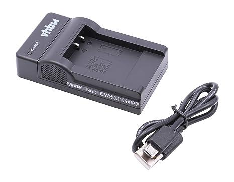 vhbw USB Cargador de Carga para cámara Panasonic HX-DC1, HX ...