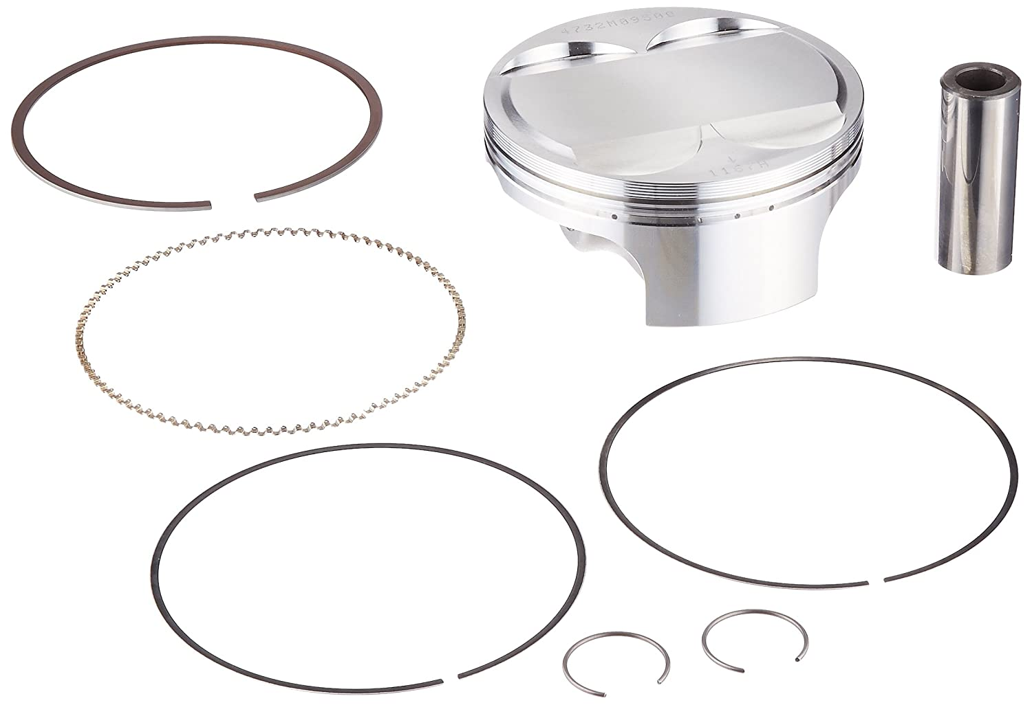 Wiseco 4732M09500 95.00mm 12.5:1 Compression Motorcycle Piston Kit