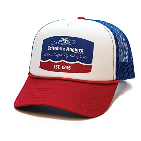 035e02897d5 Image Unavailable. Image not available for. Color  Scientific Anglers Retro Trucker  Hat