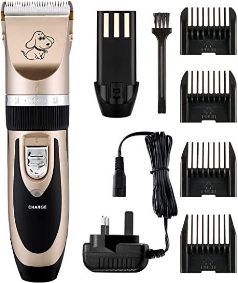 Professional Pet Grooming Clippers Rechargeable Amazon Co Uk Electronics