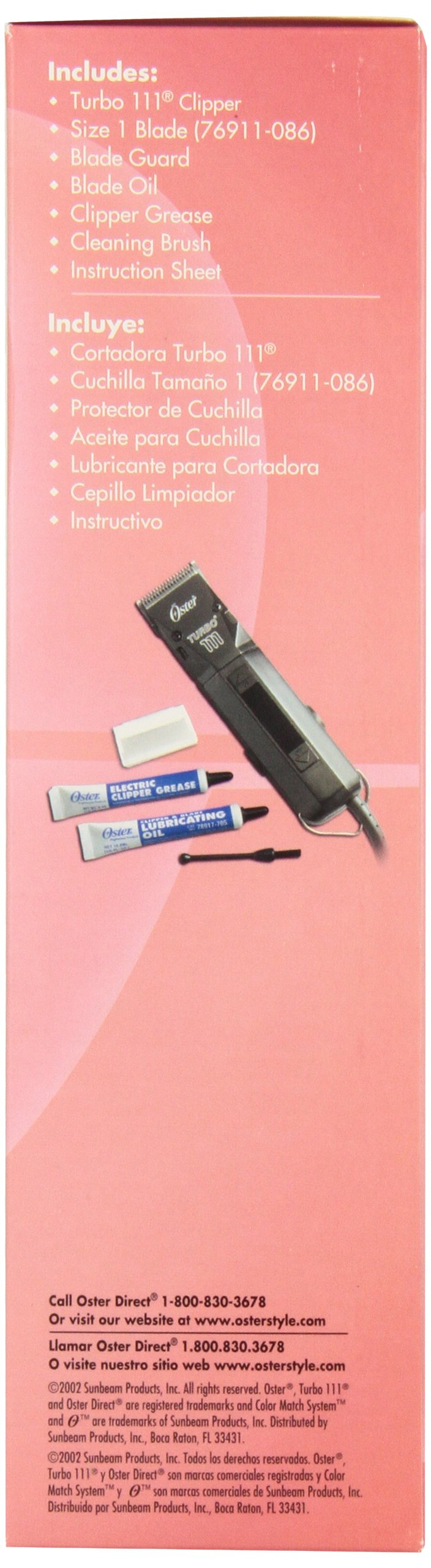 Oster Professional Turbo 111 Hair Clipper by Oster (Image #2)