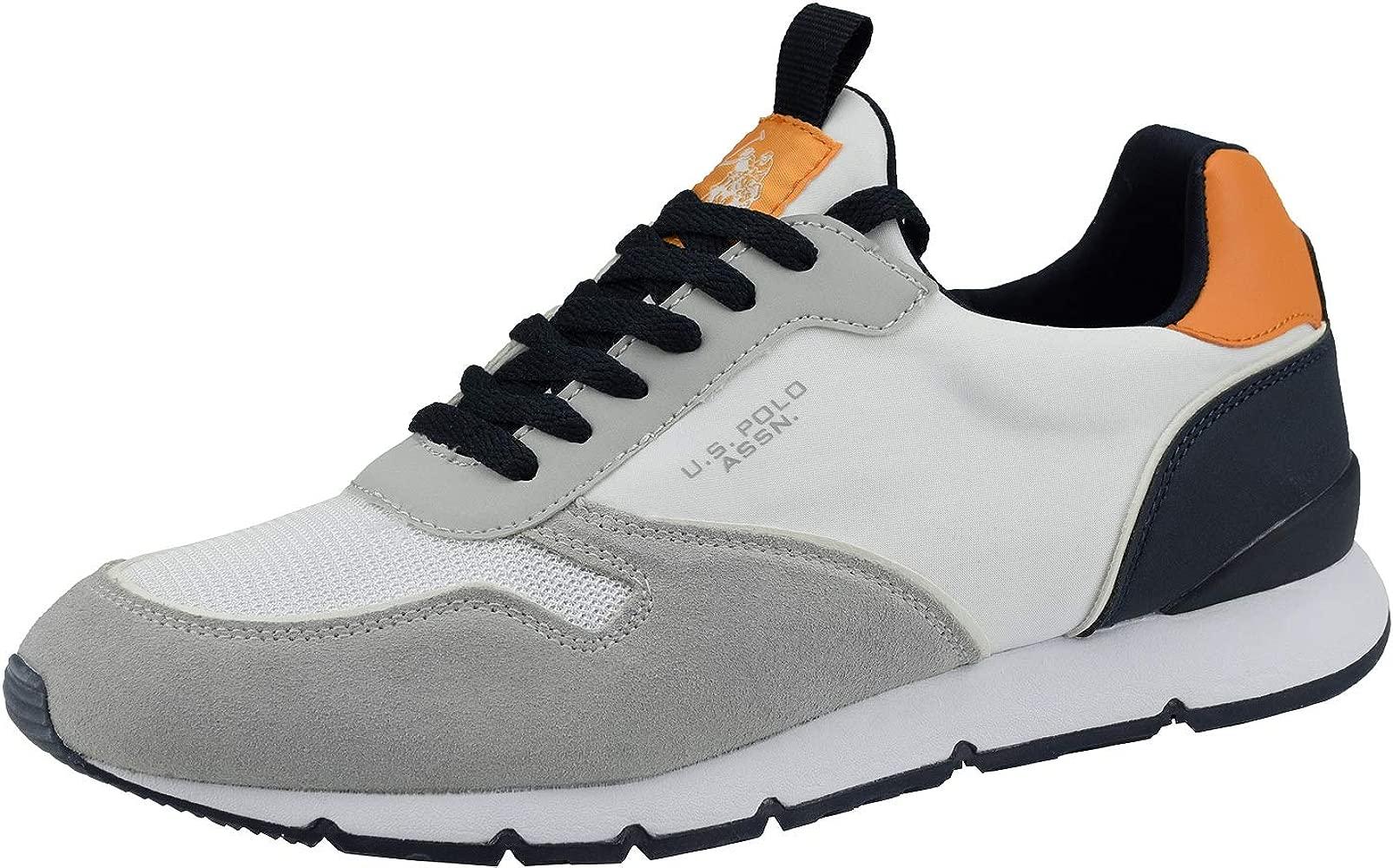 U.S. Polo Sneaker MAXIL4058S9_TS1 Hombre Color: Blanco Talla: 41 ...