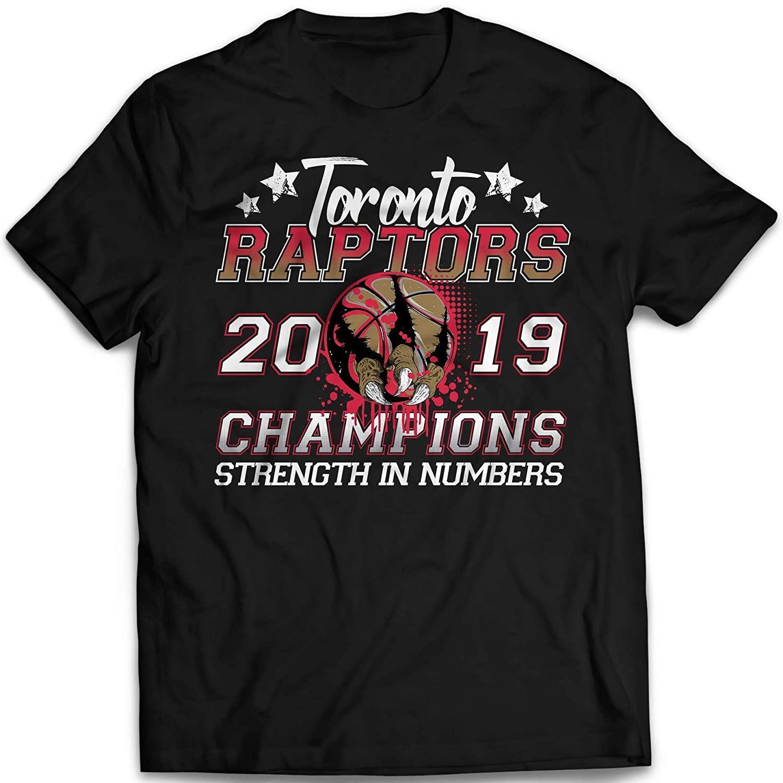 Toronto Basketball Strength 2019 Champions Win Jersey Customized T-Shirt Hoodie//Long Sleeve//Tank Top//Sweatshirt