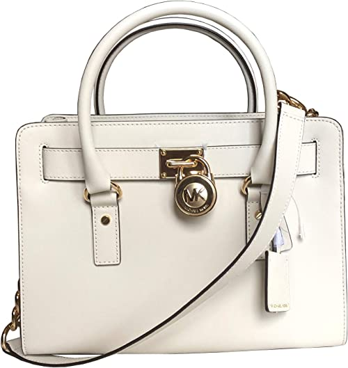 Michael Kors Hamilton Large EW Medium Saffiano Leather Tote Shoulder bag