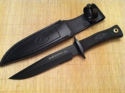 Amazon.com: Muela cuchillos Scorpion fabricado en España de ...