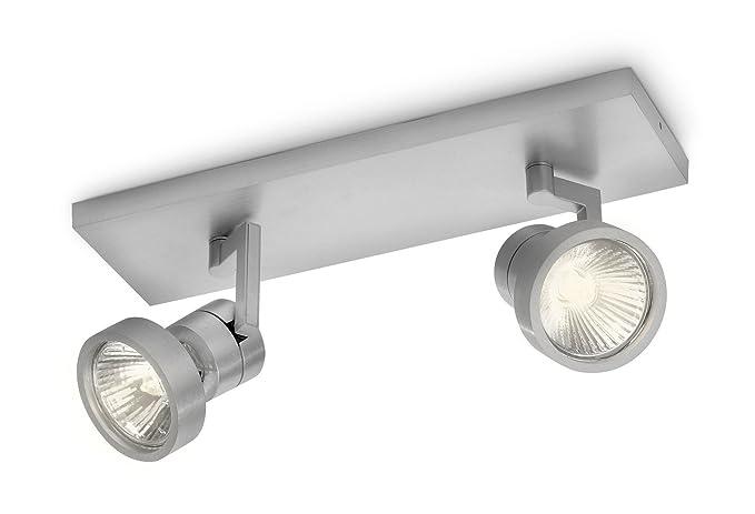 Illuminazione Con Cilindri : Philips drive barra con spot cilindro in alluminio lampadina