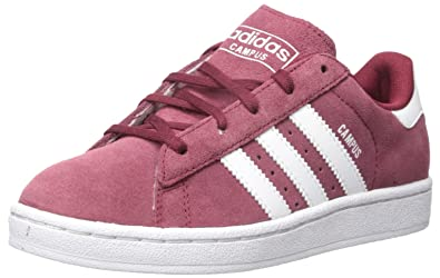 release date: 18282 96ae6 adidas Originals Boys Campus 2 C Skate Shoe Collegiate Burgundy White, 1 M  US
