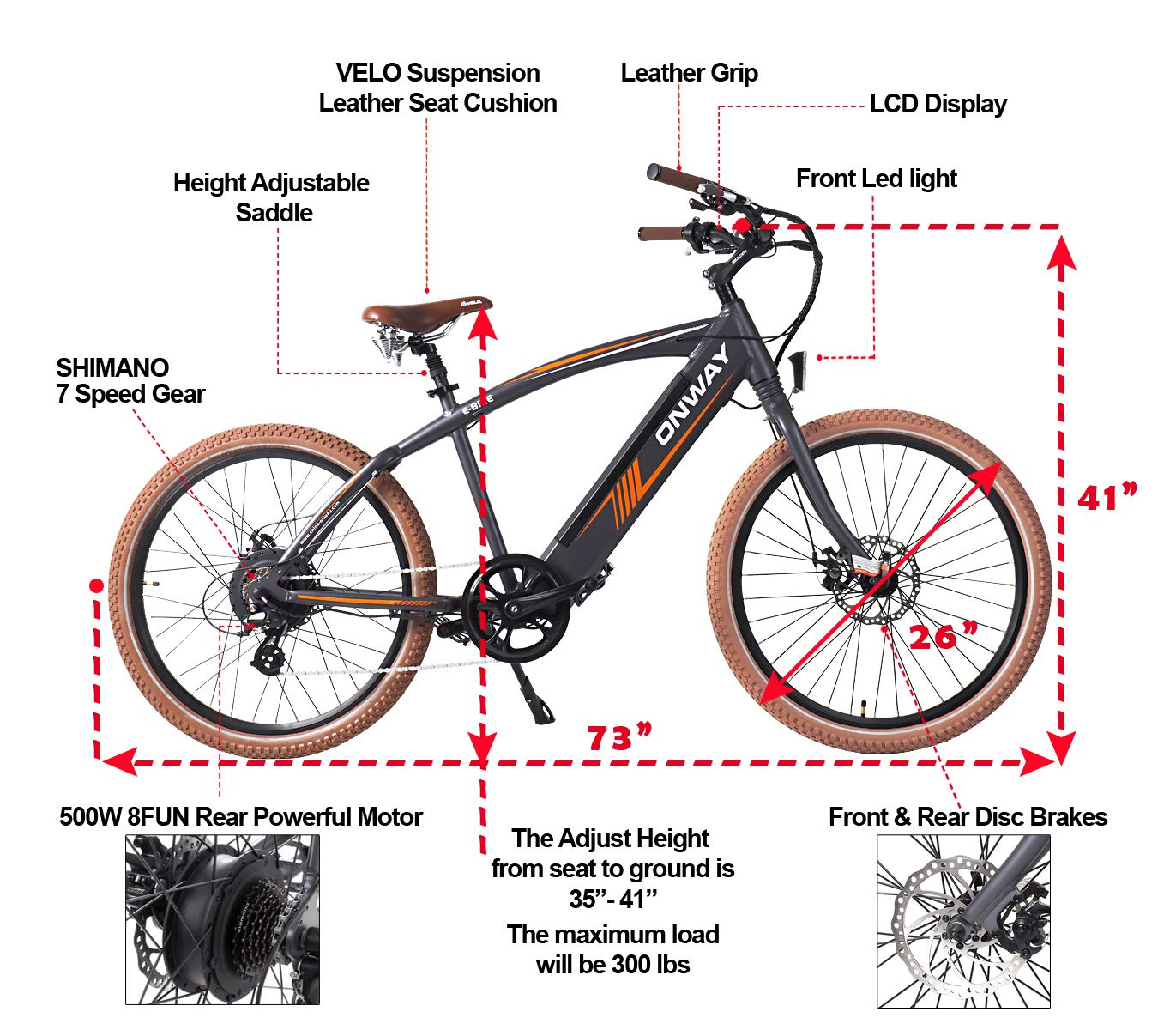 best electric bikes for heavy people for big heavy people. Black Bedroom Furniture Sets. Home Design Ideas