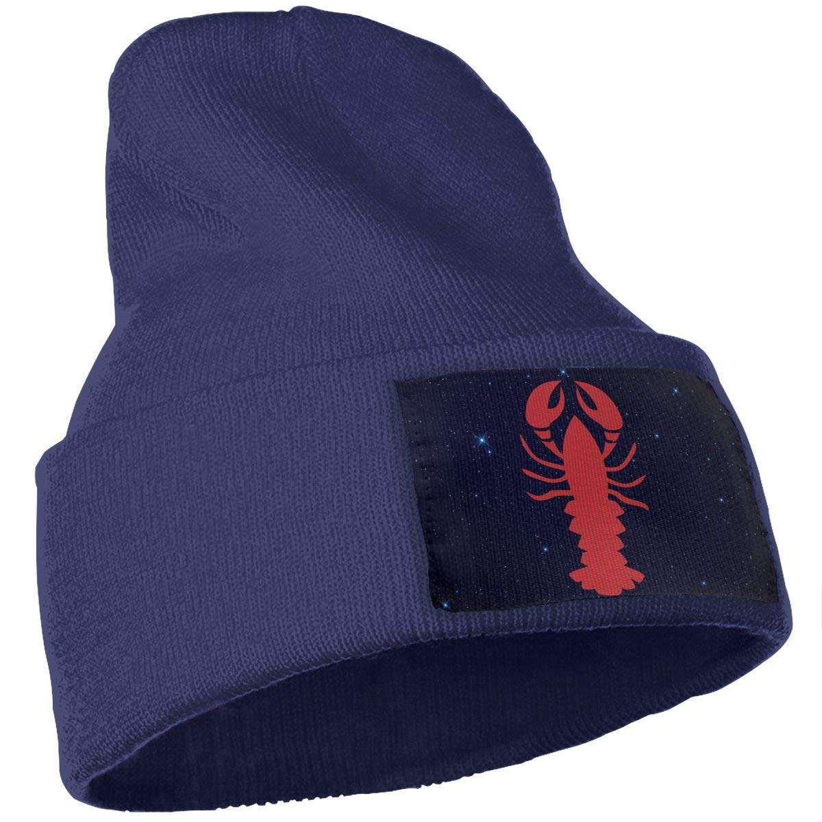 Lobster Clipart Men /& Women Knitting Hats Stretchy /& Soft Ski Cap Beanie