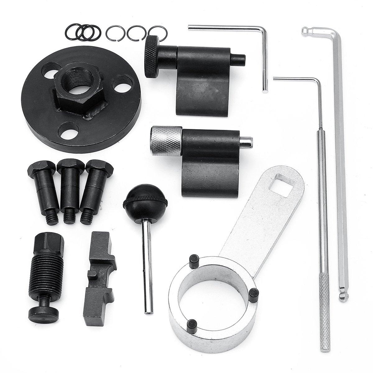 Kit de 10 herramientas de temporizador, herramienta de mano de bloqueo de temporizador, eje de leva diésel: Amazon.es: Bricolaje y herramientas