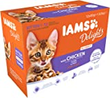 Iams Wet Cat Food Delights Gravy, 12 x 85 g