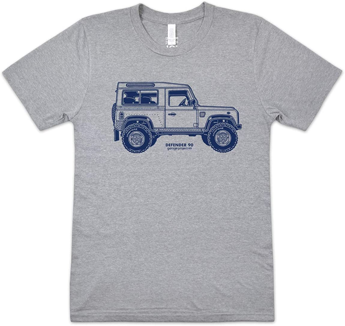 GarageProject101 Classic Defender Side T-Shirt