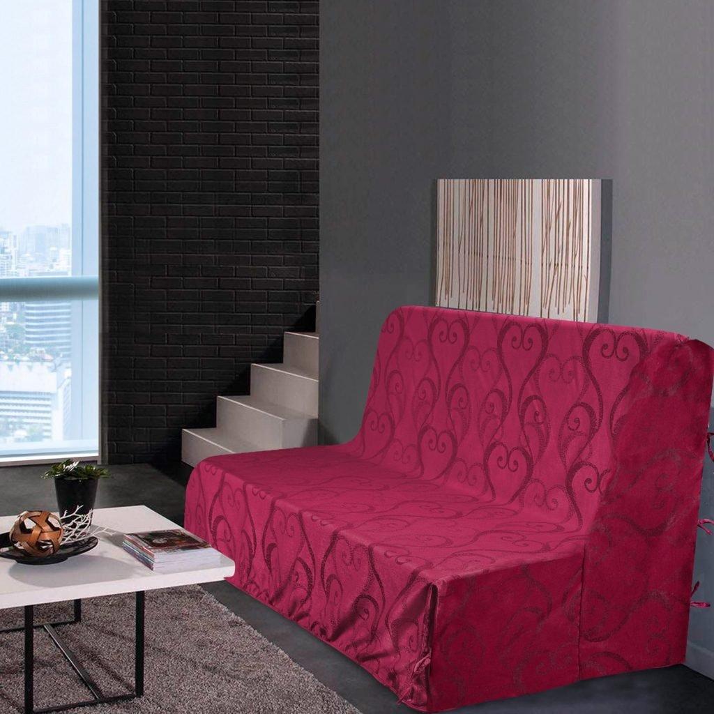 Best - Sofabezug für BZ Liebe – Bordeaux – Maße  140 x 200
