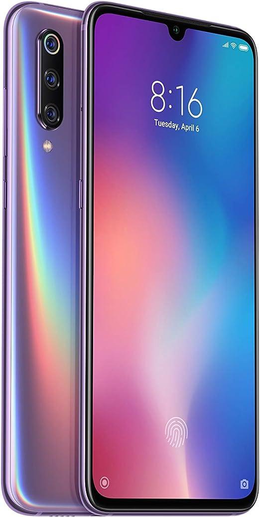 Xiaomi Mi 9 Dual SIM 128GB 6GB RAM Lavender Violet: Amazon.es ...