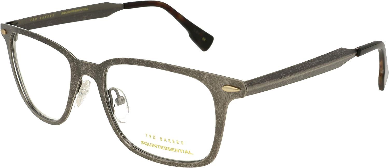 Ted Baker Gafas Tyndall S402 909 Gafas RX Marcos Gafas + Estuche: Amazon.es: Ropa y accesorios