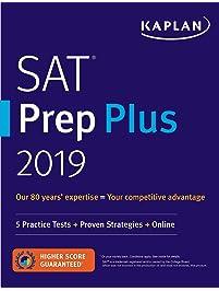 Amazon test prep study guides books sat prep plus 2019 5 practice tests proven strategies online kaplan test fandeluxe Choice Image