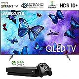 Samsung 82Q6 QN82Q6FNA QN82Q6 82Q6FN 82 inch QLED Smart 4K Ultra HD QLED TV (2018) with Microsoft Xbox One X 1TB Console Bundle