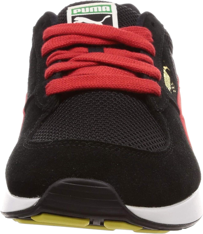 PUMA RS-1 OG, Sneakers Basses Mixte Noir Puma Black High Risk Red 7
