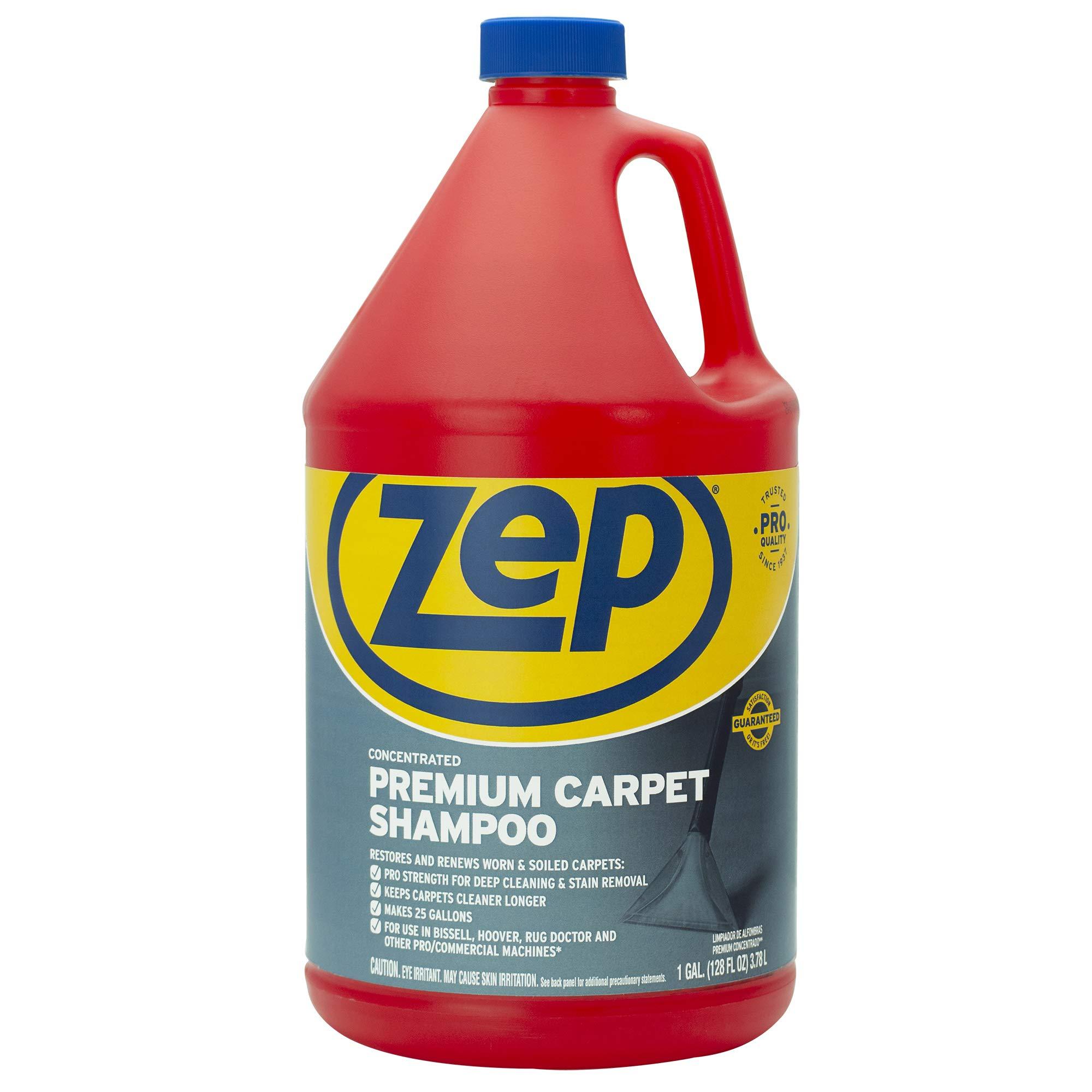 ZEP ZUPXC128 Premium Carpet Shampoo 128 Ounces
