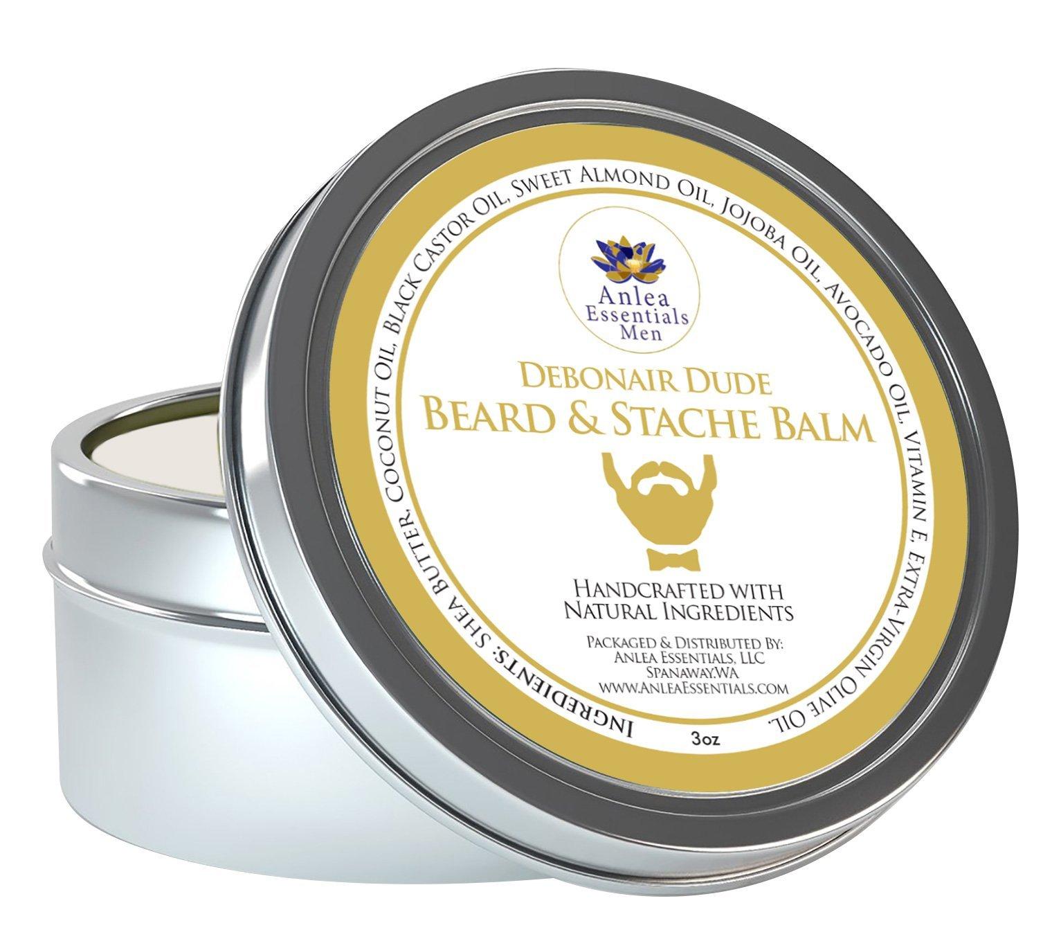 Anlea Essentials Men Debonair Dude Beard & Stache Balm