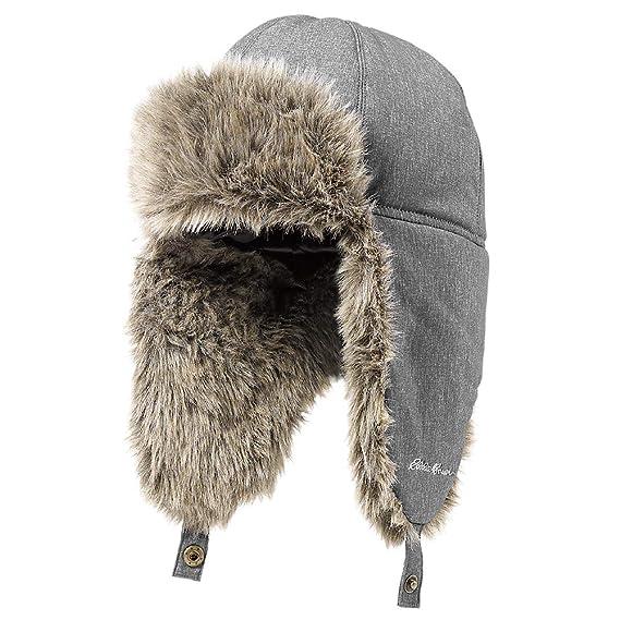 90b7bf0299c Eddie Bauer Mens Down Aviator Hat at Amazon Men s Clothing store