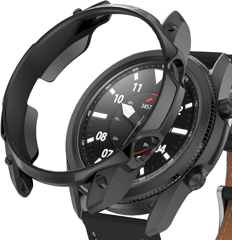 Funda Haojavo para Samsung Galaxy Watch 3 41 mm Negra