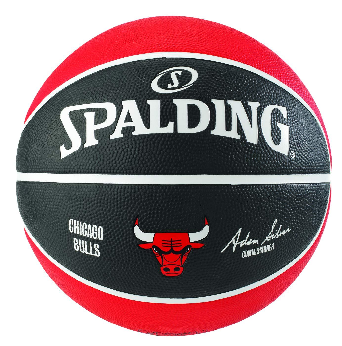 Spalding NBA Team Bulls - Balón de Baloncesto: Amazon.es: Deportes ...